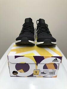 separation shoes 5ca8b 099d7 Details about Adidas UltraBoost (2018) Black Purple US Size 9 Men's G28319  Ultra boost OG