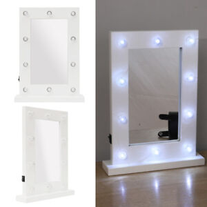outstanding bedroom vanity table lights | Light Up Dressing Table LED Illuminated Mirror Make Up ...