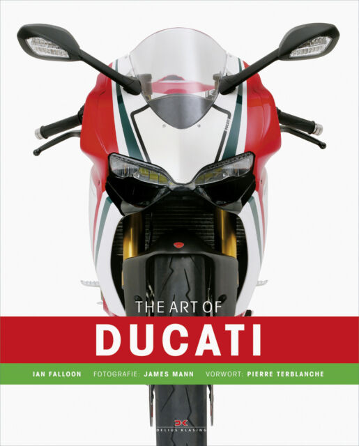 The Art of Ducati Firmen-Geschichte Modelle Typen Motorsport Motorräder Buch NEU