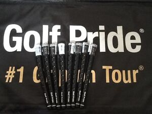 8 Golf Pride Tour Wrap 2G Black Midsize Golf Grip $53.92 Shipped!!!!!!