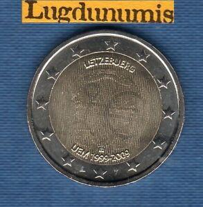 2 euro Commémo Luxembourg 2009 EMU UME Luxembourg