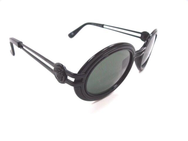 Versace Sunglasses Gianni Versace S28 Black 582 Vintage Frame New & Authentic