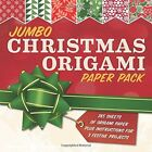 Jumbo Christmas Origami: 285 Sheets of Origami Paper Plus Instructions for 3 Festive Projects by Sterling Publishing Company (Paperback, 2014)