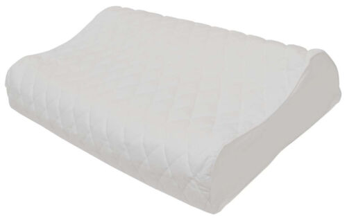 Contoured Removable//Washable Pillow Protector Quilted-in Layer Cotton Cover