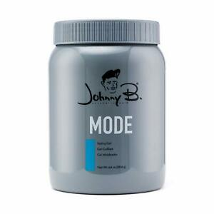 Johnny B Mode Styling Hair Gel 64 oz MODE Non Alcohol NEW CONTAINER FRESH