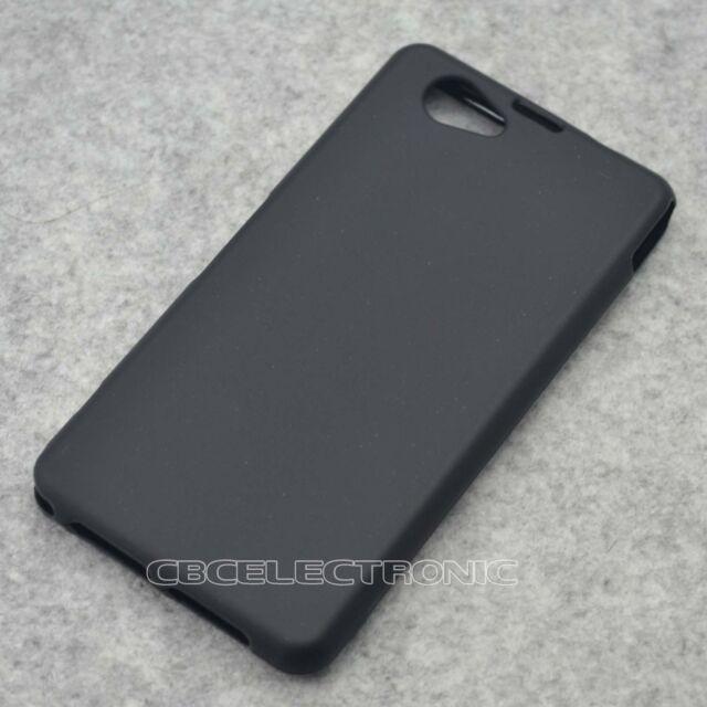 New Black TPU Matte Gel skin Case Cover For Sony Xperia Z1mini Z1 Compact D5503