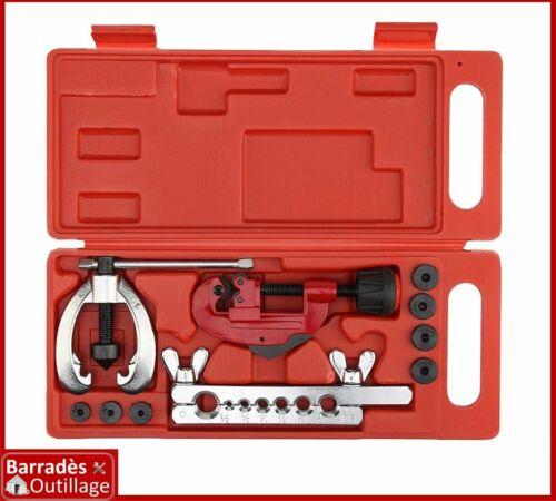 10 pcs Coffret dudgeonnière évaseur tuyaux de frein//climatisation de 5 à 15 mm