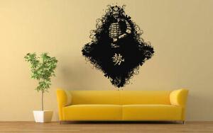 Wall-Vinyl-Sticker-Decals-Mural-Room-Design-Art-Japanese-Warrior-Samurai-bo617