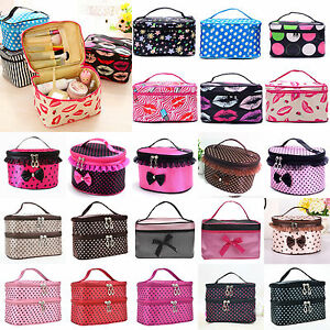 Travel-Makeup-Cosmetic-Bag-Multifunction-Purse-Box-Toiletry-Wash-Case-Organizer
