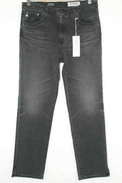 New Ag Jeans Women's Isabelle High Waist Straight Crop Size 30r 17 Years Rage