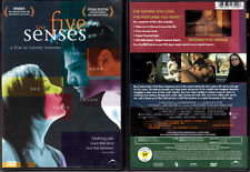 DVD Mary Louise Parker THE FIVE SENSES Philippe Volter cult WS Lbx R1 OOP NEW