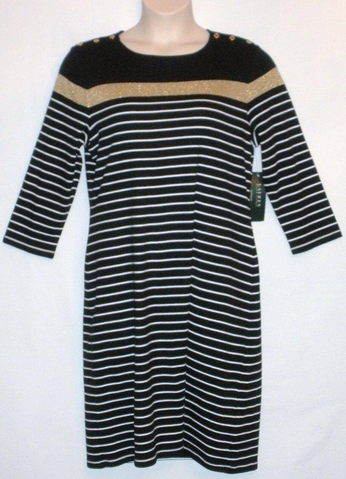 NEW with TAG  LAUREN RALPH LAUREN 3 4 Sleeve Dress Größe XL - MSRP