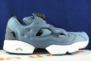 Image is loading REEBOK-INSTAPUMP-FURY-TECH-ROYAL-BLUE-SLATE-COLLEGIATE-