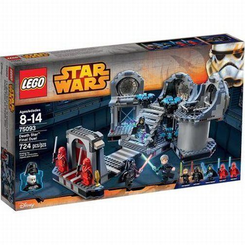 75093 DEATH STAR FINAL DUEL redj star wars lego sealed NEW legos set