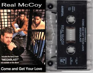 Real-McCoy-Come-And-Get-Your-Love-1994-Cassette-Tape-Single-Pop-Dance-Rock