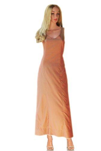 Bodenlang 38 Kleid Maxikleid Festlich Elegantes Tandem Gr Puder Schimmernd Neu gqzITOwxE