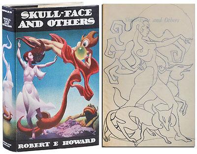 Robert E. Howard-SKULL-FACE & OTHERS (1946)-1ST ED, W/ORIG. HANNES BOK DRAWING
