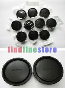 10x-Rear-lens-Body-cap-cover-for-Sony-E-mount-NEX-camera-Wholesale-lots-10-pcs