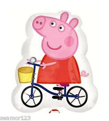 "1 X Peppa Pig Helium  19""/48cm X23""/58cm Anagram Street Treats 2293602"