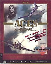 Aces: The Complete Collector's Edition (PC, 1995) 4 games, from Sierra  NEW