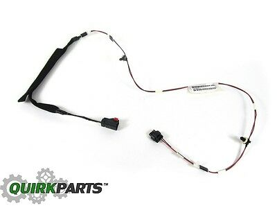 07-10 Jeep Wrangler RIGHT /& LEFT SIDE DOOR AJAR CHECK STRAP /& WIRING NEW MOPAR