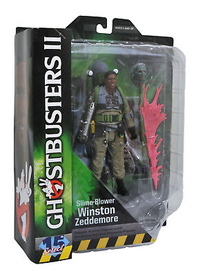 Ghostbusters 2 Select Series 7 Winston Zeddemore Action Figure Slime-Blower