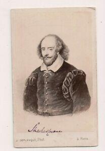 Vintage-CDV-William-Shakespeare-Famous-English-Playwright-amp-Author