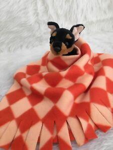 BLACK DAISEY Fuzee Fleece Dog Blankets,Soft Pet Blanket Travel Throw Cover
