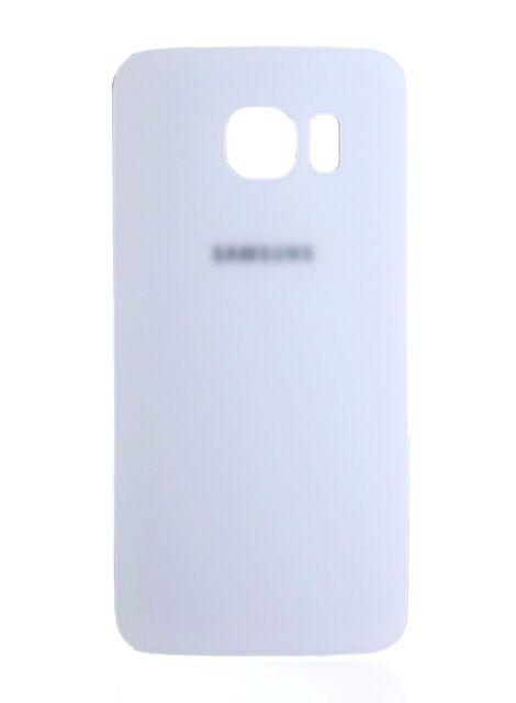 designer fashion cdbef a146e White Replacement Samsung Galaxy S6 Edge G925 Back Cover Glass