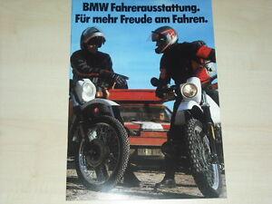 Auto & Motorrad: Teile Bücher Bmw Fahrerausstattung Prospekt 01/1987 Billiger Preis 62725