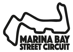 MARINA-BAY-RACE-CIRCUIT-Car-vinyl-sticker-F1-Singapore-Grand-Prix-Formula-One