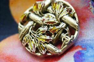 100-Chanel-button-1-pieces-cc-logo-25-mm-1-inch-metal-gold-bronze-XLarge