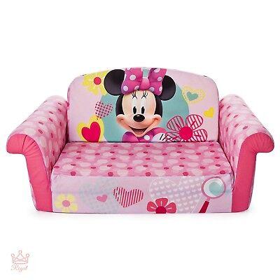 Kids Foam Bed Sleeper Chair Folding Flip Sofa Childrens