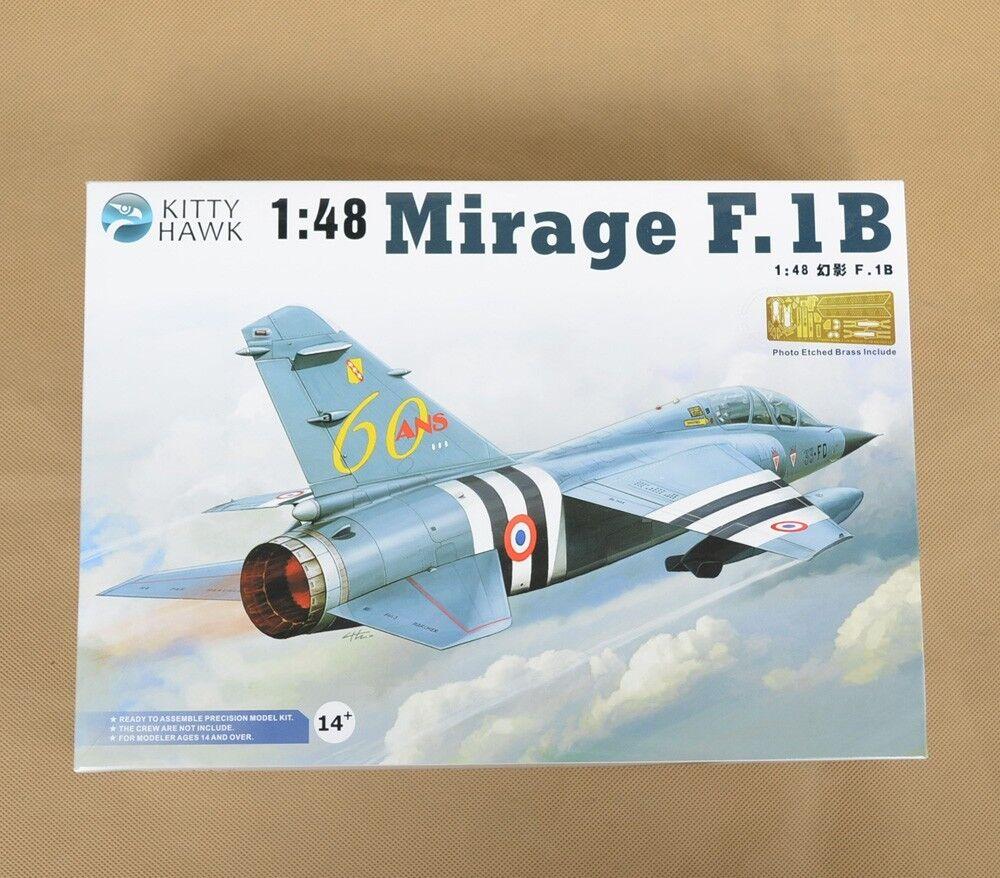 COOL Brand Kitty Hawk Unassembled PS Plastic PE Decal 1 48 Mirage F.1B Model Kit