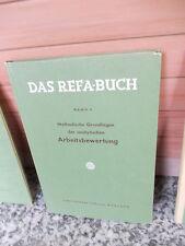 Das REFA-BUCH, Band 3: Methodische Grundlagen der analytischen Arbeitsbewertung