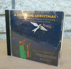 A-Lion-King-Christmas-Holiday-Music-CD-Musical-Disney-2005-e-Charpa-Productions