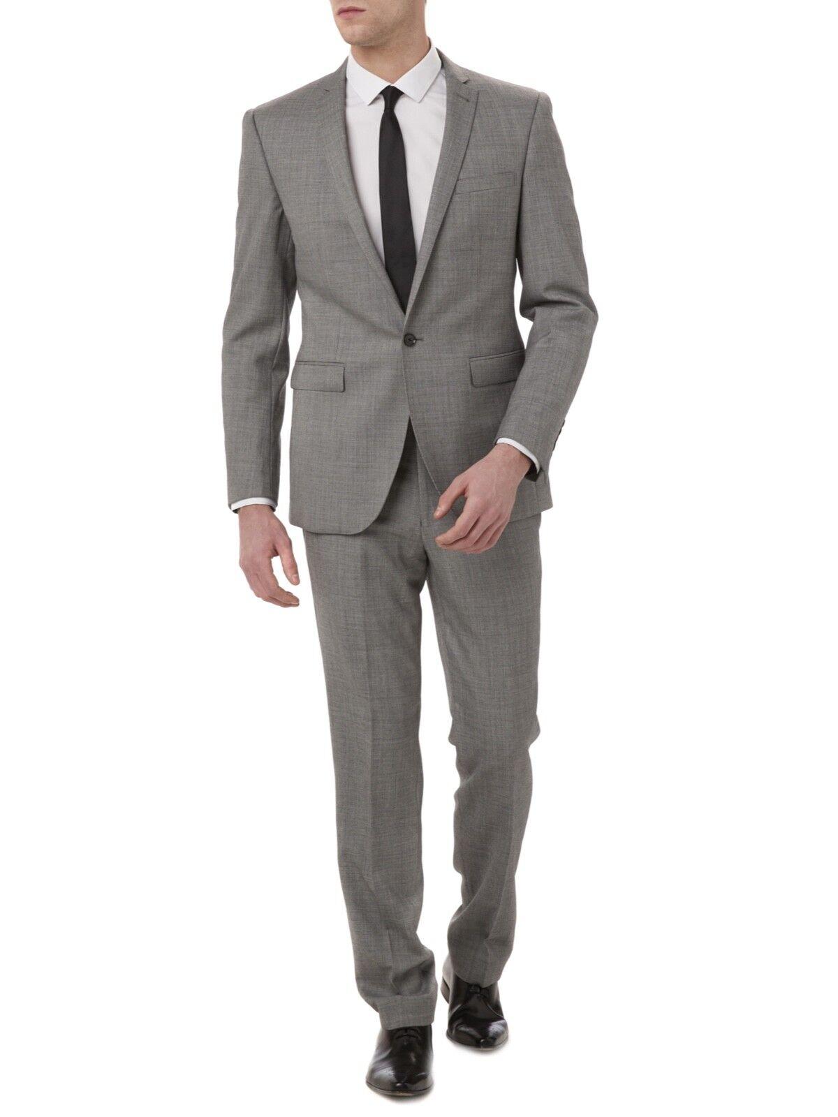 REMUS men® 'Luca' Slim Fit Suit Grey Marl - 40R 34R LAST ONE  SRP