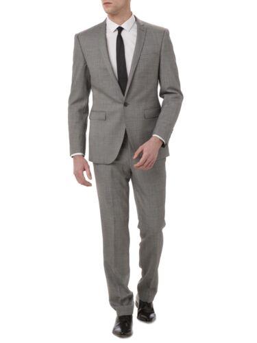 Slim Srp 40r £269 Last Fit 34r One 'luca' Suit Remus Uomo® grey Marl qPR0REx
