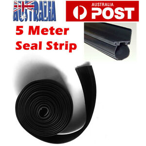 5m-Garage-Door-Bottom-Weather-Stripping-Rubber-Seal-Strip-PVC-Universal-AU