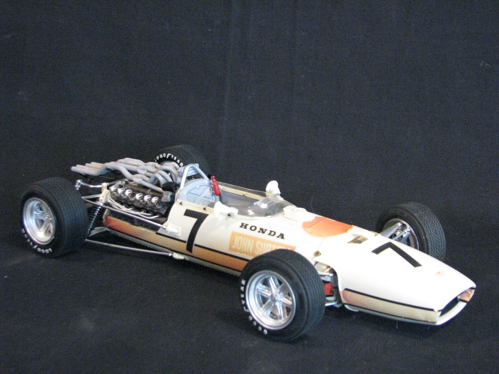 Tamiya Honda RA273 1966 1 12  7 John Surtees (GBR) Built kit