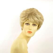 short wig for women golden blond wick very light blond : CLEMENTINE 15t613 PERUK