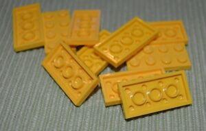 10 Black 1x4 Standard Plate Bricks ~ Lego ~ NEW ~