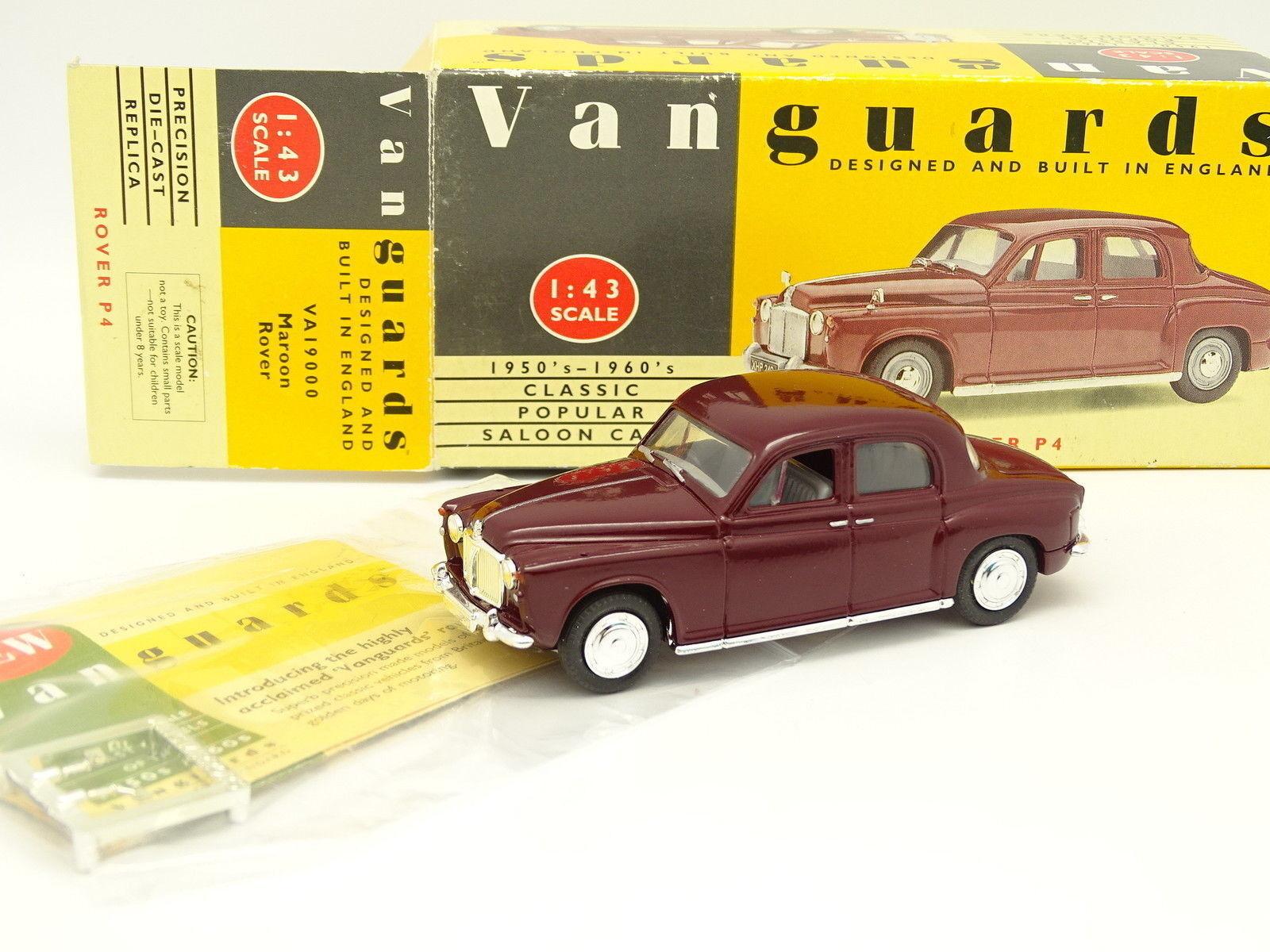 Vanguards 1 43 - Rover P4 Rouge