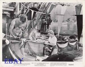 Keith-Andes-barechested-Marilyn-Monroe-VINTAGE-Photo-Clash-By-Night