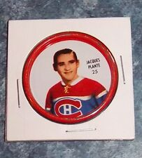 Shirriff  coins hockey 1962-63 # 25 Jacques Plante Montreal Canadians Holder