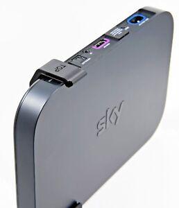 SKY-Q-Mini-Box-Wall-Bracket-SKY-Q-Mini-Wall-Mount-New-in-Black-With-fixings