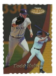 TODD HELTON 2000 TOPPS GOLD LABEL CLASS 2 GOLD #24 SERIAL #94/100 COLORADO