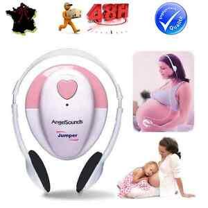 doppler foetal angelsounds couter le coeur de b b id al cadeau future maman ebay. Black Bedroom Furniture Sets. Home Design Ideas