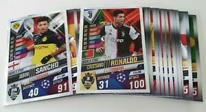 2020-UEFA-Champions-League-20-Soccer-Cards-inc-2-Shiny-Match-Attax-101