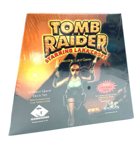 Neuf US Starter Deck Tomb Raider Collectible Card Game 2 Lecteur Quest Deck